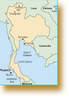 Map of Phuket & Phi Phi